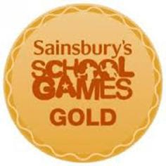 Sainsburys School games gold